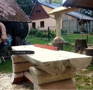 zarovnanie plochy vrchu stolu
